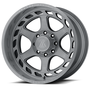 Asanti Wheels - AB816 Anvil Titanium Brushed 8 lug