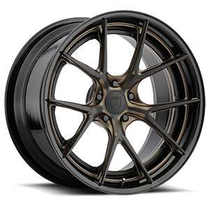 Asanti Wheels - TL101 Gloss Black w/ Bronze Accents 5 lug