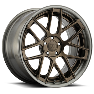 Asanti Wheels - TL102 Bronze w/ Grey Lip 5 lug