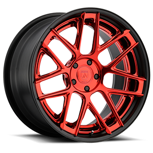 Asanti Wheels - TL102 Black w/ Red Face 5 lug