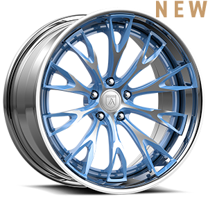Asanti Wheels - TL106 Blue Brushed 5 lug