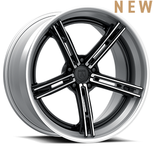 Asanti Wheels - TL108 Black Brushed 5 lug