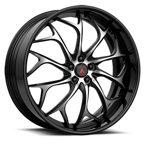 Asanti Wheels - ELT878 Black Brushed 5 lug