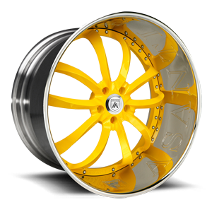 Asanti Wheels - ELT503 Yellow 5 lug