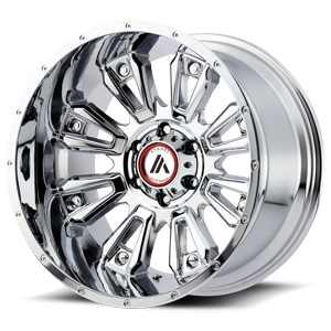 Asanti Wheels - AB808 Blackhawk Chrome 6 lug