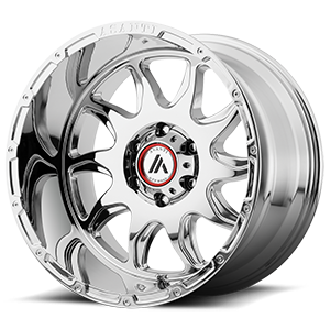 Asanti Wheels - AB810 Ballistic Chrome 6 lug
