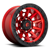 Covert - D695 Candy Red w/ Black Ring