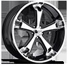 Liquidmetal Wheels - Dyno Black Machined