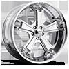 Liquidmetal Wheels - Dyno Chrome Plated