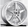 Liquidmetal Wheels - F5 All Silver