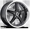 Liquidmetal Wheels - F5 Black Machined