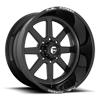 FF09D - 8 Lug Super Single Front Gloss Black