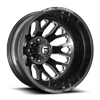 FF19D - Rear Candy Black & Milled