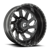 FF39D - 10 Lug Rear Brushed Candy Black