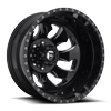 FF52D - Rear 8 LUG ONLY Gloss Black & Milled