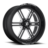 FF54 - 6 Lug Matte Black & Milled