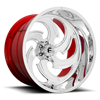 FFC67 | Concave Polished w/ Candy Red Inner