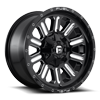 Hardline - D620 18x9 +1 | Gloss Black & Milled