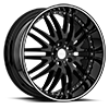 Z04 M-Sport Gloss Black with Machined Stripe