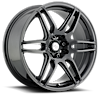 NR6 - M105 Anthracite & Milled Spoke