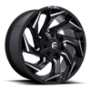 Reaction - D753 Gloss Black Milled - 20x9