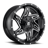 Rocker - D613 Gloss Black & Milled