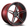 Roma 21x11 Matte Black w/ Candy Red