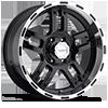 Liquidmetal Wheels - Rhino Black with Diamond Cut