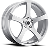 Liquidmetal Wheels - Static All Silver