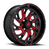 Kompressor - D642 - UTV Gloss Black w/ Candy Red