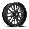 Stroke - D611 - UTV Gloss Black & Milled