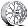 Liquidmetal Wheels - Wire All Silver