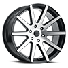 Liquidmetal Wheels - Blade Gloss Black Machined Face
