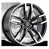 Liquidmetal Wheels - Splice Gloss Metallic Black 20x8.5