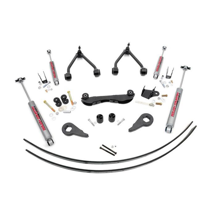 2 - 3IN GM SUSPENSION LIFT KIT (REAR ADD-A-LEAFS)