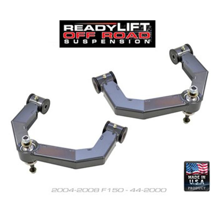 ReadyLift Ford F-150 Mid-Travel Uniball Upper Control Arm Kit