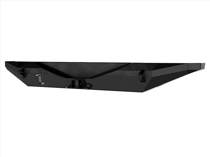 18-UP JEEP JL PRO SERIES REAR BUMPER W/ HITCH & TABS