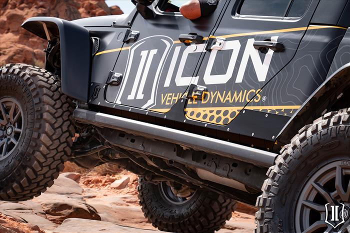 20-UP JEEP JT BODY ARMOR