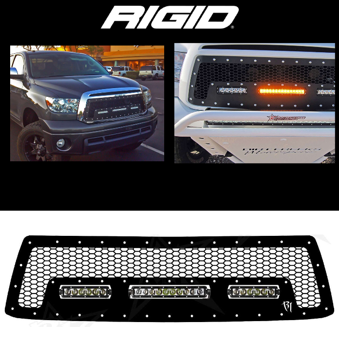 10 INCH AND 6 INCH GRILLE 2010-2013 TOYOTA TUNDRA SR-SERIES
