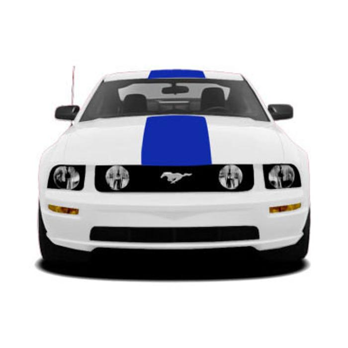 Racing Stripe, Rear Top Style 3 for Ford Rear Wing 2005-2009 Ford Mustang