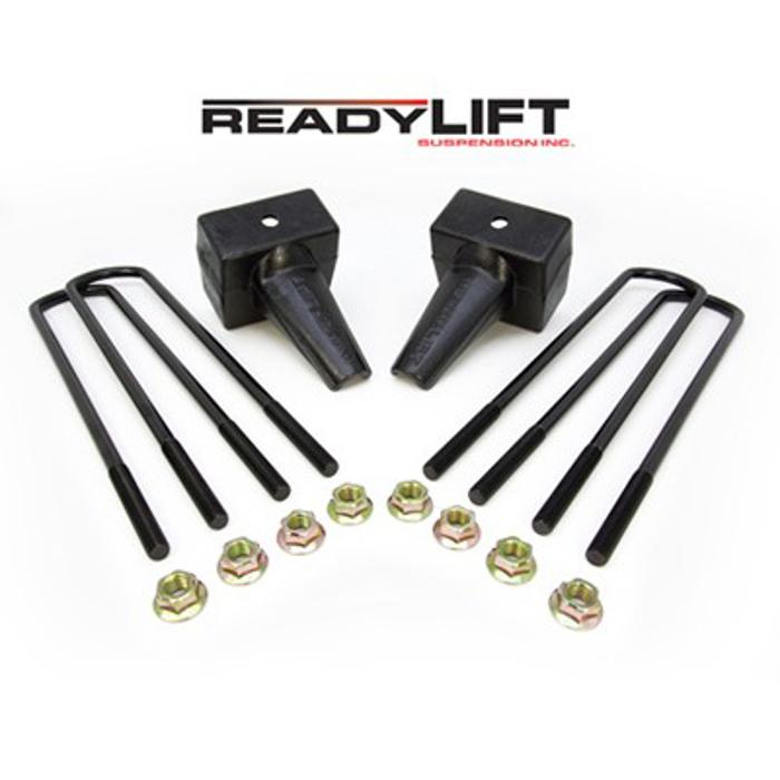 ReadyLift 2011-2013 Ford Super Duty Dually 4 in. Rear Block Kit - 66-2024