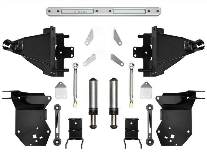 17-UP RAPTOR REAR AIR BUMP KIT