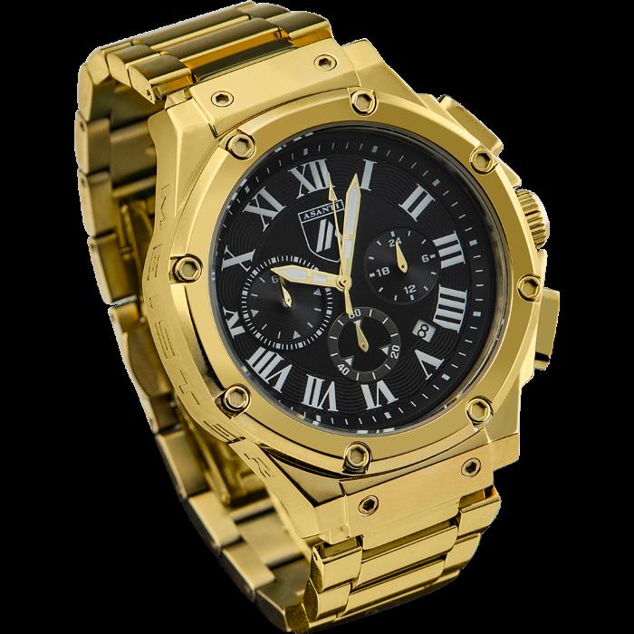 Asanti Watches - ASAAM180CHP-GLD