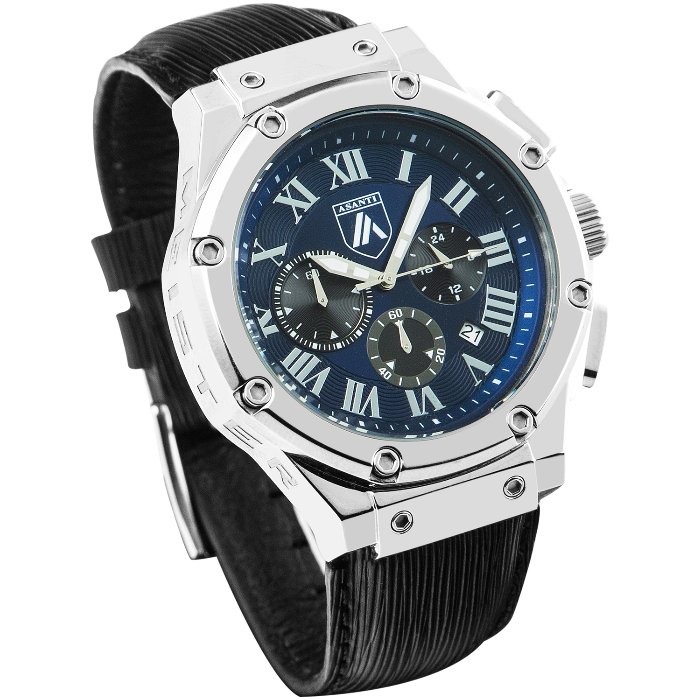 Asanti Watches - ASAAM181SIL-BLU