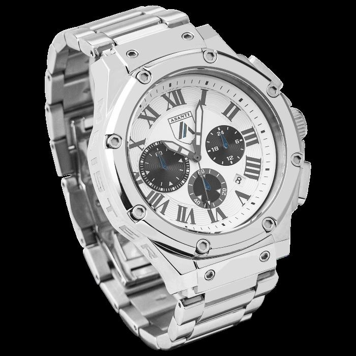 Asanti Watches - ASAAM181SIL-WHT