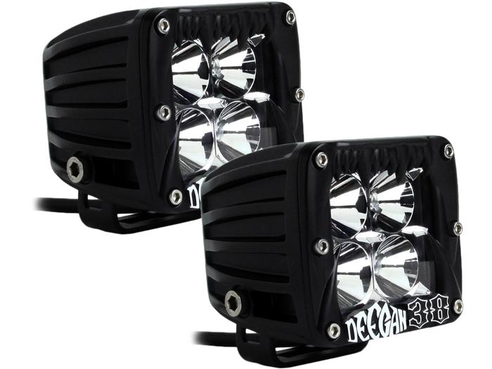Rigid Industries DUALLY DEEGAN 38 SPOT PAIR 2014-2017 TOYOTA 4RUNNER-TACOMA-TUNDRA