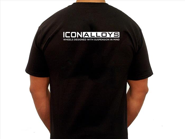 ICON ALLOYS STANDARD TEE BLACK - XLARGE