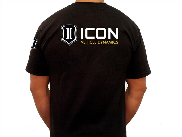 ICON STANDARD TEE BLACK - SMALL