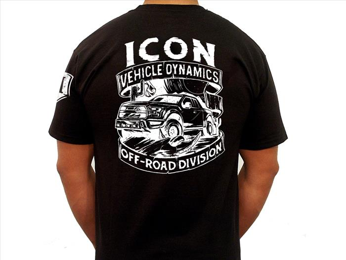 ICON WESTERN TEE BLACK - SMALL