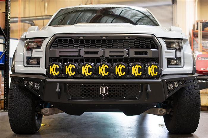 17-UP RAPTOR IMPACT LIGHT BAR BRACKET KIT FOR KC PRO6